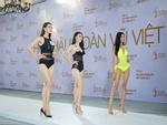 Cao Ngân bất ngờ xuất hiện tại vòng sơ khảo phía Nam Hoa hậu Hoàn vũ Việt Nam 2017-11