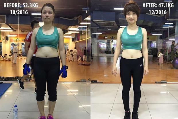 Đến phòng tập gym để quên trầm cảm, cô gái Quảng Ninh lột xác đến hàng xóm cũng không nhận ra-1