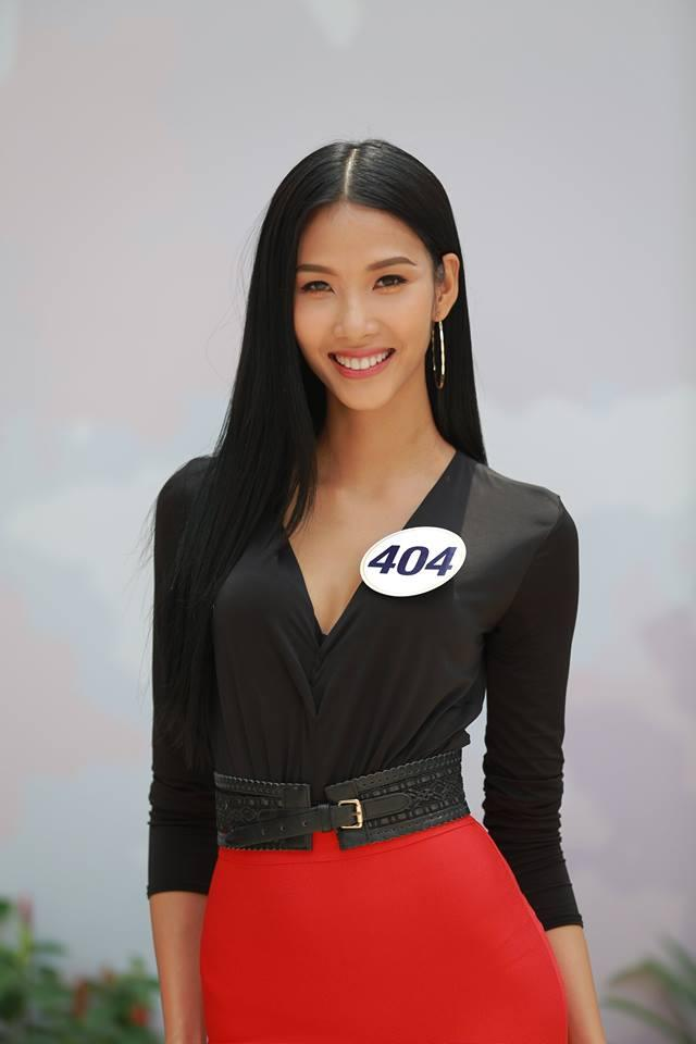 Cao Ngân bất ngờ xuất hiện tại vòng sơ khảo phía Nam Hoa hậu Hoàn vũ Việt Nam 2017-4