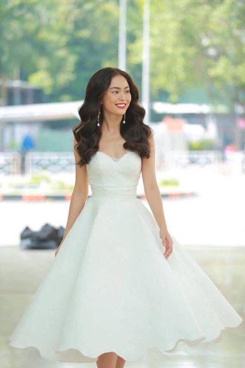 Cao Ngân bất ngờ xuất hiện tại vòng sơ khảo phía Nam Hoa hậu Hoàn vũ Việt Nam 2017-5