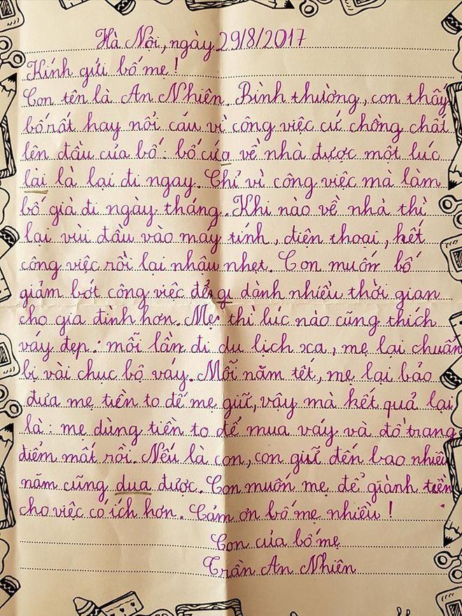 Cứ đi tối ngày vì công việc, cho đến khi nhận được bức thư của con gái, ông bố mới giật mình nhìn lại-1