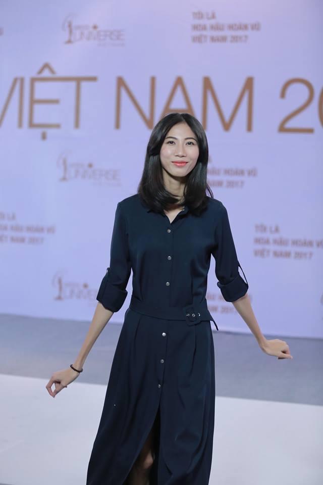Cao Ngân bất ngờ xuất hiện tại vòng sơ khảo phía Nam Hoa hậu Hoàn vũ Việt Nam 2017-1