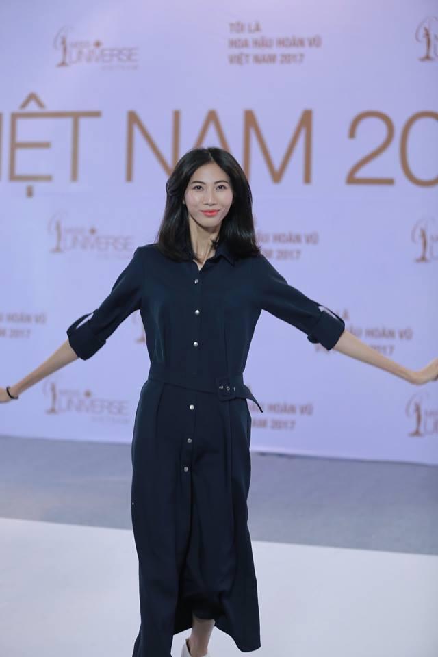 Cao Ngân bất ngờ xuất hiện tại vòng sơ khảo phía Nam Hoa hậu Hoàn vũ Việt Nam 2017-2