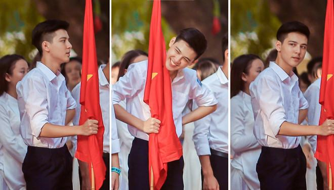 Hot boy cầm cờ bức xúc khi liên tiếp bị giả mạo Facebook-1