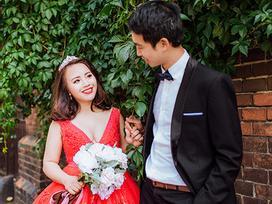 Cặp đôi bác sỹ Việt sống tại Séc hẹn hò trong… phòng giải phẫu, 7 năm sau về trường xưa chụp ảnh cưới