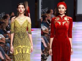 Áo dài Việt xuất hiện trên sàn diễn thời trang New York