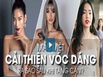 Người mẫu Việt làm gì để thoát khỏi thân hình cò hương?