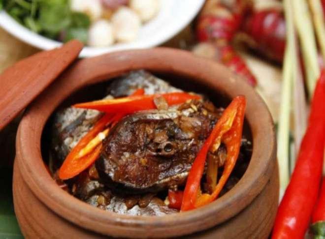 Món cá kho làng Vũ Đại nổi tiếng xưa nay