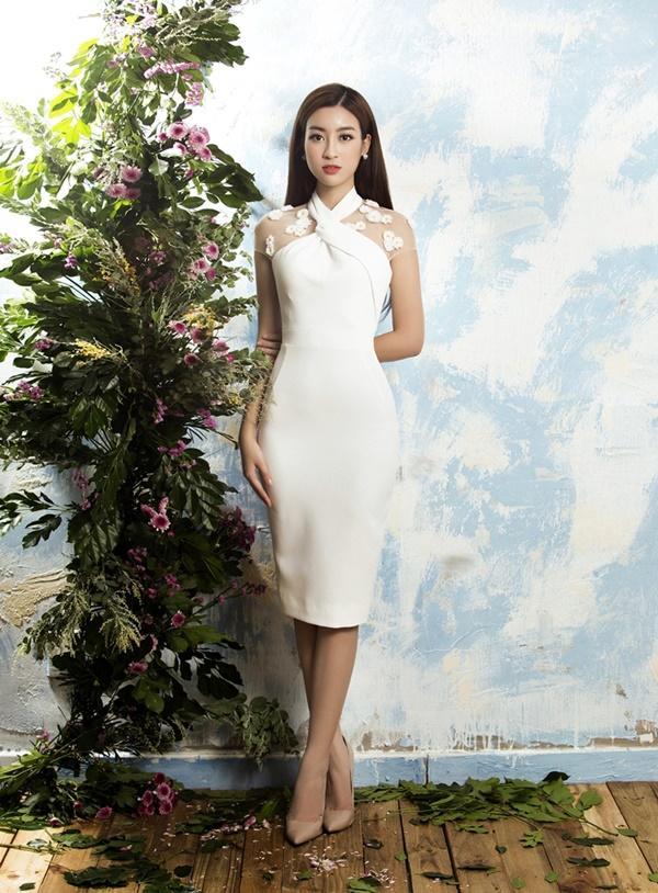Đỗ Mỹ Linh đẹp mong manh trước ngày đến với đấu trường Miss World 2017-3