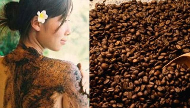 Làm đẹp với bã cà phê-2