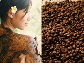 Làm đẹp với bã cà phê