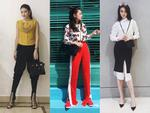 Hoa hậu Kỳ Duyên phủ đầy hàng hiệu khi đến Milan Fashion Week 2017-9