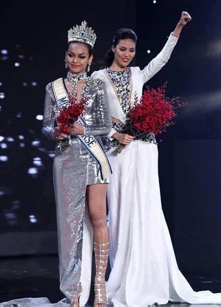 Mai Ngô thi Hoa hậu Hoàn vũ, fan lại được khen cười ngả nghiêng vì ảnh chế-5