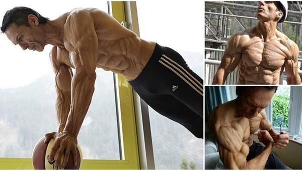 Choáng khi thấy người đàn ông 48 tuổi bị quắt hết mỡ cơ thể-6