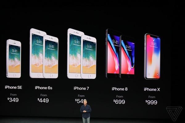 5 điểm khác biệt cơ bản của iPhone 8 và iPhone X-5