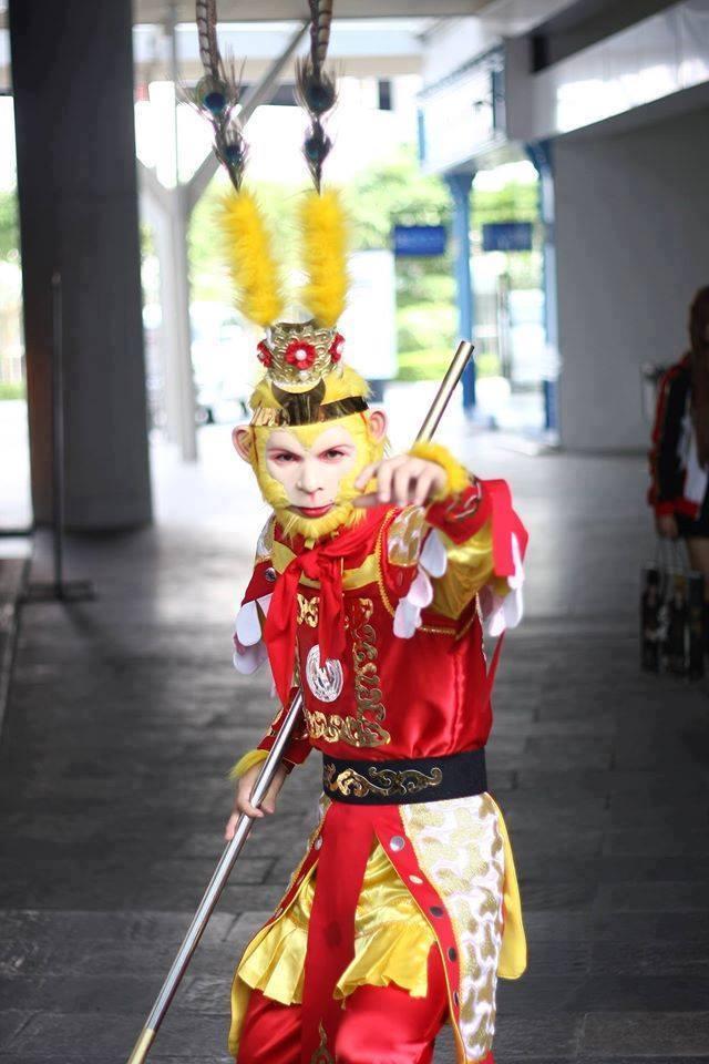 Chàng sinh viên kiến trúc hóa thân thành Tôn Ngộ Không gây bão mạng xã hội-1