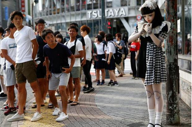 Chân dung búp bê sống tại Nhật Bản: Khi ranh giới giữa người và búp bê gần như bị xóa nhòa-1