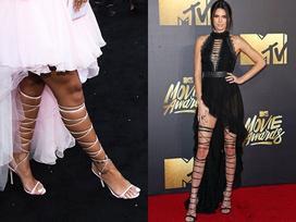 Đôi giày mỗi lần đi là 'phát khổ phát sở', nhưng vì sexy Rihanna vẫn cắn răng chịu đựng