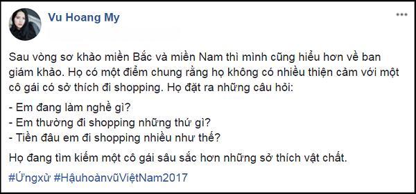 MC Phan Anh và Á hậu Hoàng My bất đồng khi cùng cân thí sinh Hoa hậu Hoàn vũ Việt Nam-1
