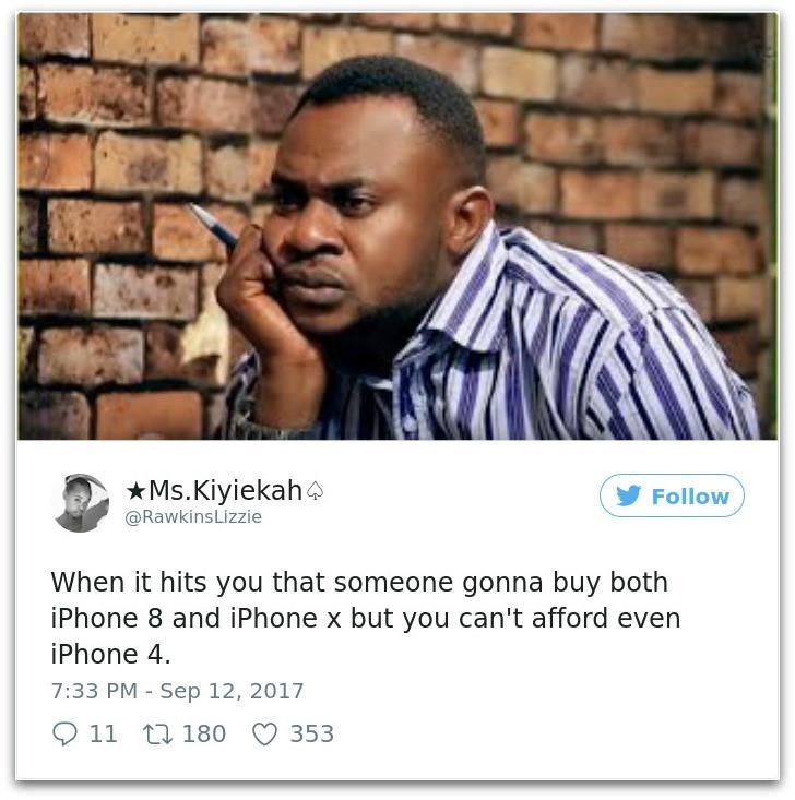 Ảnh chế khi iPhone X ra mắt lầy lội của dân mạng thế giới-3