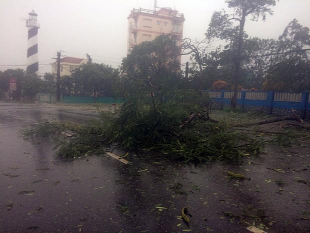 Những hình ảnh kinh hoàng khi bão số 10 đổ bộ vào miền Trung-13