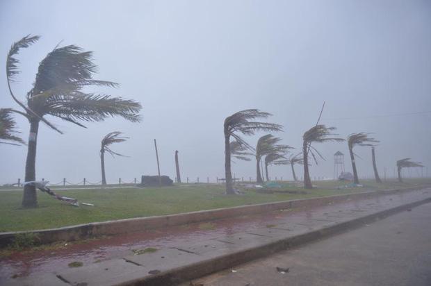 Những hình ảnh kinh hoàng khi bão số 10 đổ bộ vào miền Trung-5