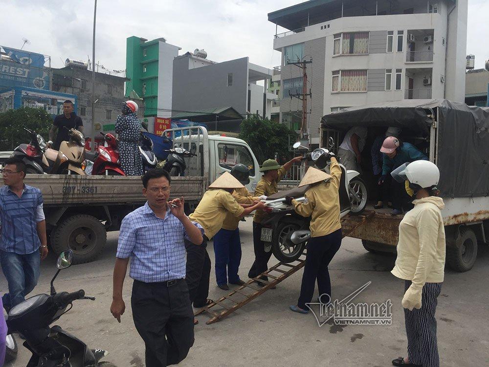Quảng Ninh: Gió giật cực mạnh, cấm xe máy qua cầu Bãi Cháy-2