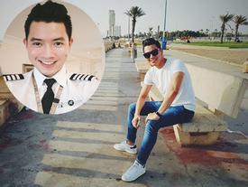 'Cơ trưởng đẹp trai nhất Việt Nam' khoe giọng hát cực ngọt khiến hội chị em 'đứng hình'