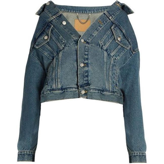 Tưởng ăn mặc cẩu thả nhưng hóa ra đây là mốt mới của áo khoác denim-9