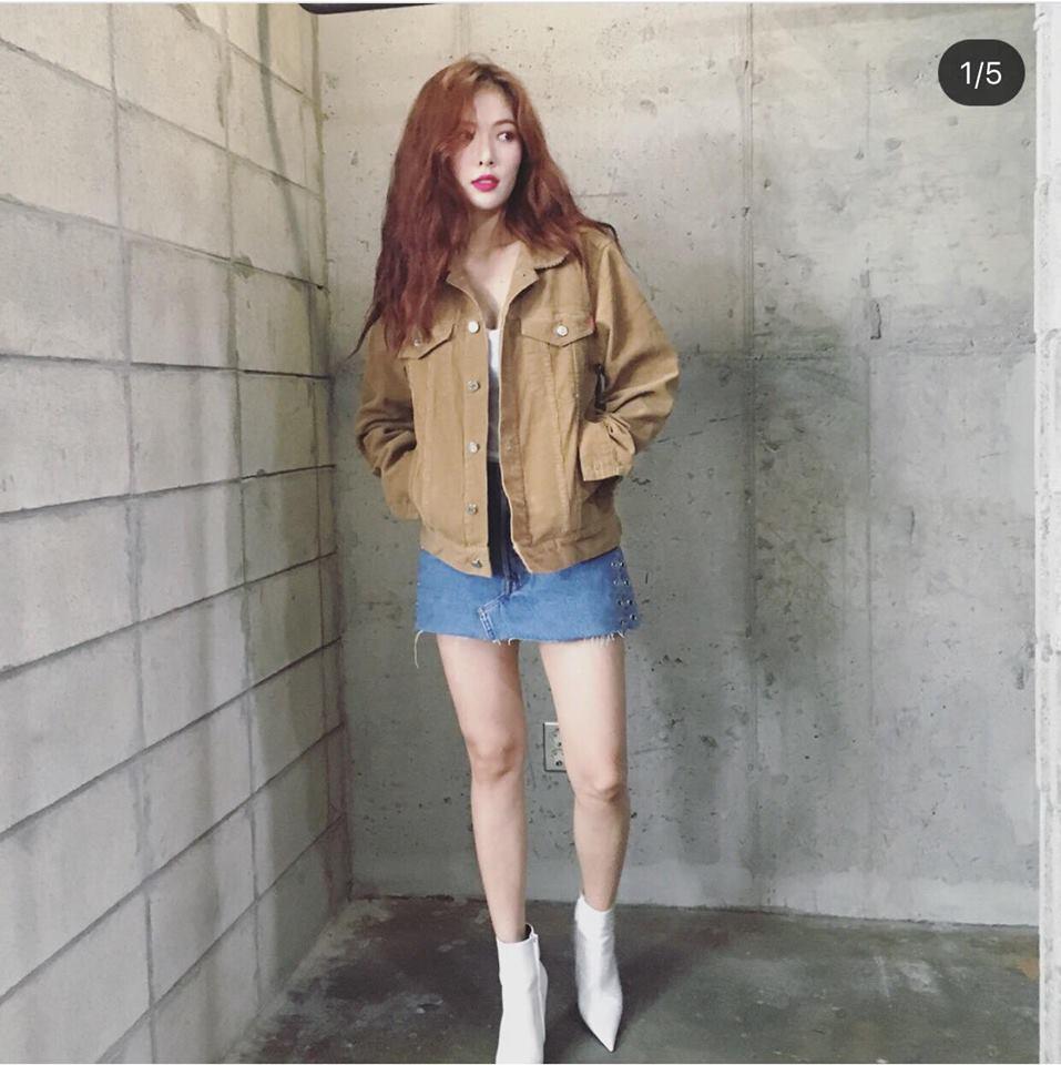 Park Shin Hye - Jessica diện street style cực chất trong Tuần lễ thời trang New York-5