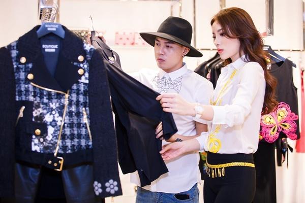 Hoa hậu Kỳ Duyên phủ đầy hàng hiệu khi đến Milan Fashion Week 2017-3