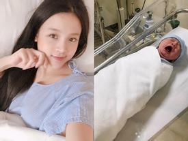 Huyền Baby tự tin để mặt mộc 'lên sóng' sau một ngày sinh em bé