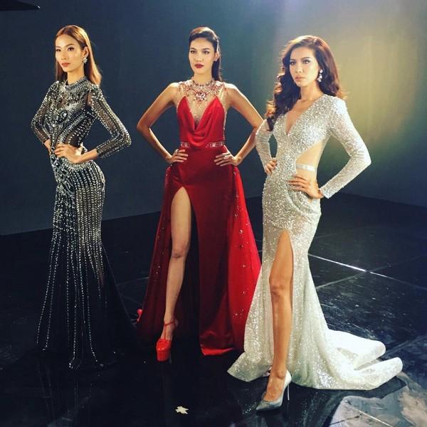 Đụng độ váy áo, Hoa hậu Kỳ Duyên vẫn chặt đẹp Hoa khôi Lan Khuê-5