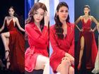 Đụng độ váy áo, Hoa hậu Kỳ Duyên vẫn 'chặt đẹp' Hoa khôi Lan Khuê