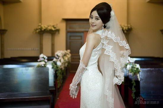Trước khi được Lý Thần cầu hôn, Phạm Băng Băng từng 5 lần làm cô dâu tuyệt sắc-9