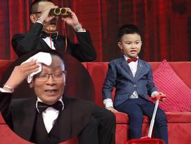 'Thánh chém' 5 tuổi Minh Khang tái xuất khiến MC Lại Văn Sâm 'toát mồ hôi'