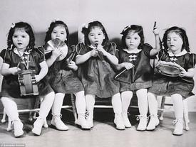 Cuộc đời đầy biến cố của 5 bé gái xinh xắn trong ca sinh 5 đầu tiên trên thế giới
