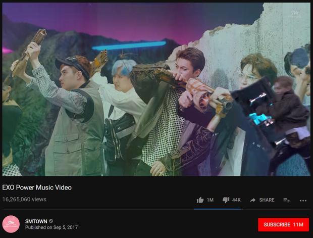 Bị chê dở, chê flop, MV mới của EXO vẫn đạt 1 triệu Like-1