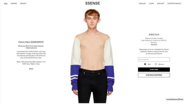 Có giá hơn 49 triệu nhưng chiếc áo mặc như không mặc này đang cháy hàng-1