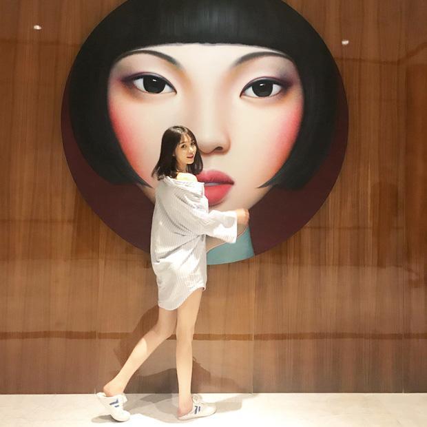 Cô bạn Trung Quốc mặt xinh, dáng đẹp, người đâu đáng yêu hết phần người khác-8
