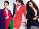 Kỳ Duyên, Angela Phương Trinh lại quên nội y khi mặc vest