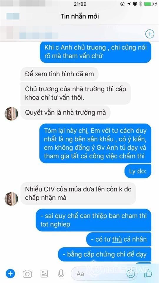 Vợ Xuân Bắc tung bằng chứng tố cáo NSND Anh Tú chèn ép, nhà trường dùng thủ đoạn-12