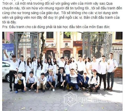 Vợ Xuân Bắc tung bằng chứng tố cáo NSND Anh Tú chèn ép, nhà trường dùng thủ đoạn-14