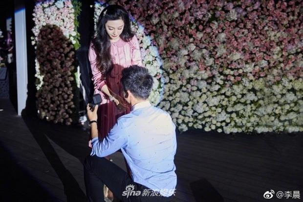 Cận cảnh chiếc nhẫn Lý Thần cầu hôn Phạm Băng Băng: Chưa bao giờ lung linh và hoành tráng đến thế-1