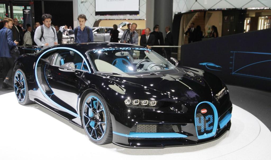 Bugatti Chiron bản đặc biệt Zero-400-Zero-1