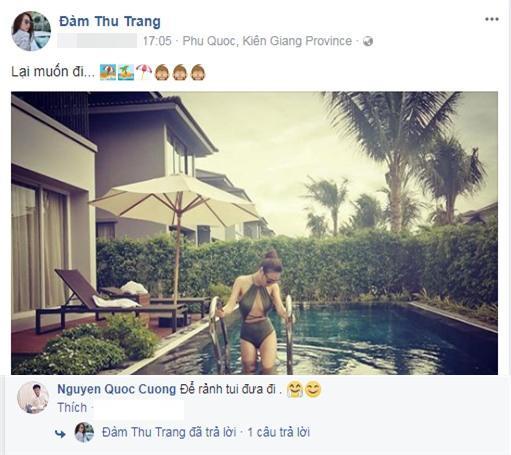 Cường Đô La công khai rủ người tình tin đồn Đàm Thu Trang hẹn hò riêng-1
