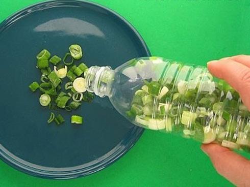 Mẹo bảo quản rau tươi xanh với chai nhựa 'thần thánh'