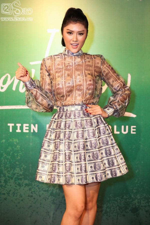 Chán dùng đồ hiệu, Huỳnh Tiên chuyển sang mặc đồ thiết kế 10 triệu đồng/ bộ-1