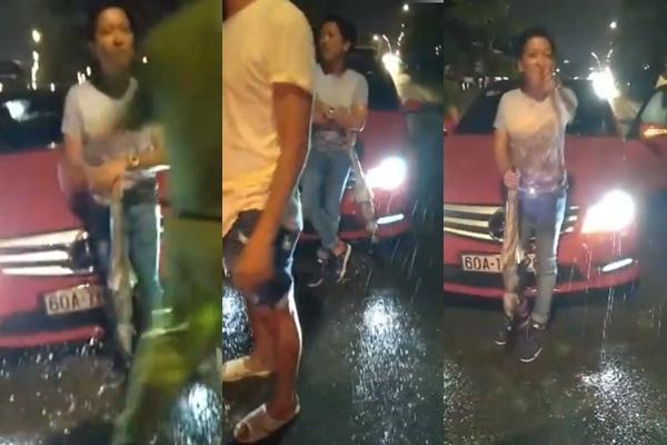 Clip: Trường Giang ướt mèm, say xỉn tranh cãi sau khi va chạm giao thông giữa đêm-1