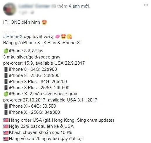 Đặt cọc mua iPhone X, coi chừng mất tiền oan-3